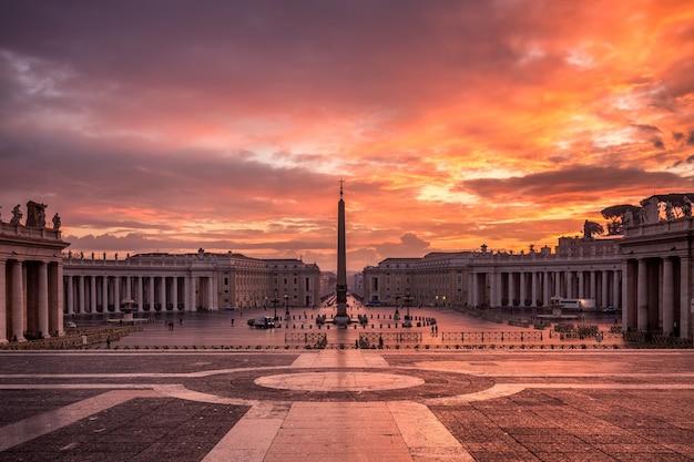Vatikanischer stadtplatz