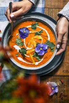 Vean sahnige tomatensuppe