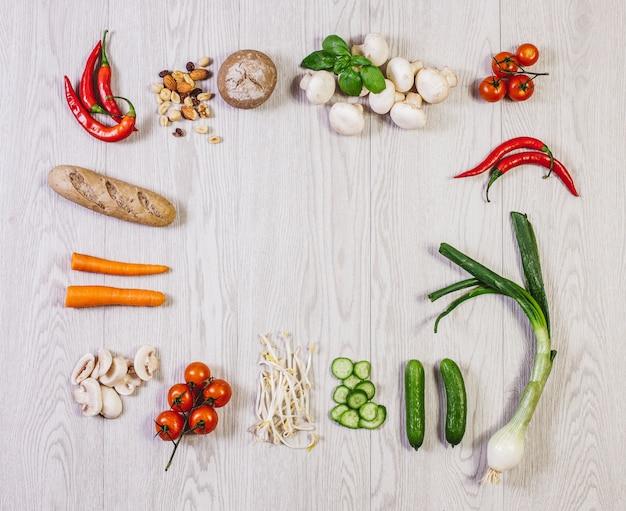 Veggie salud leckeres foodie nahrung