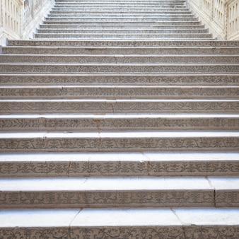 Venedig, italien. detail der treppe des palazzo ducale