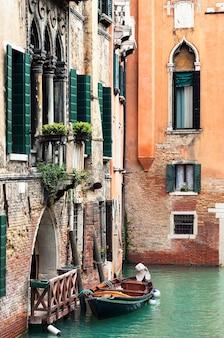 Venedig kanal, italien