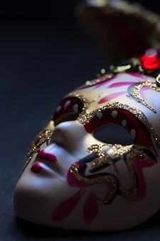 Venezianische maske schließen