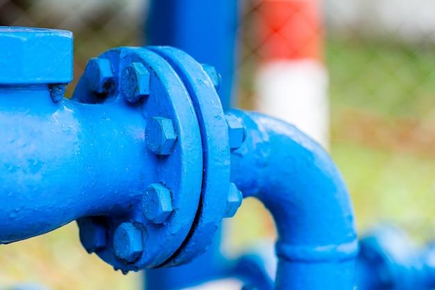 Ventile an gaswerk