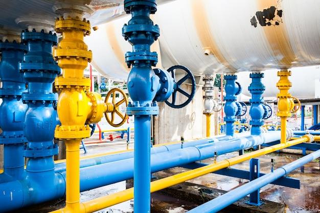 Ventile im gaswerk