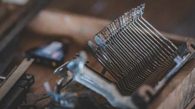 Veraltete schreibmaschinen-sticks