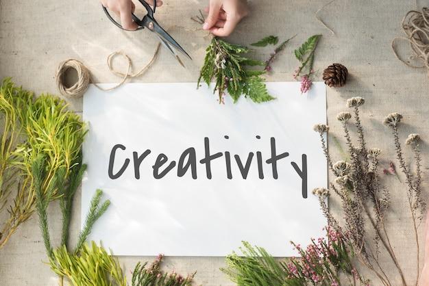 Verbessern sie ideen inspiration kreativkonzept