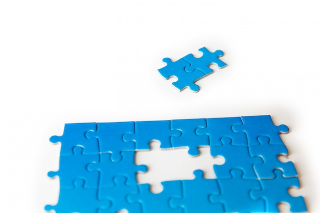 Verbindungsstück puzzle, business, erfolg und strategie, bildung, gesellschaft und tee