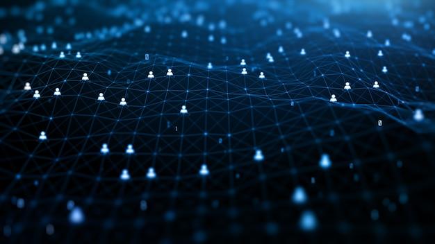 Verbindungssymbol im internet