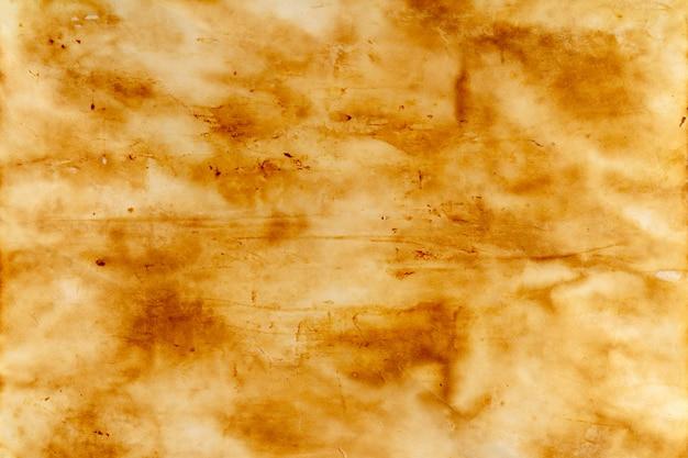 Verbranntes altes blatt papier
