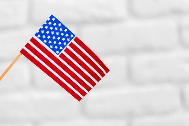 Vereinigte staaten der amerikanischen flagge