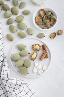 Verfahren zur herstellung von horchata oder veganer milchfreier mandelmilch