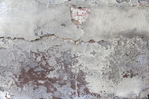 Verfallene betonwand