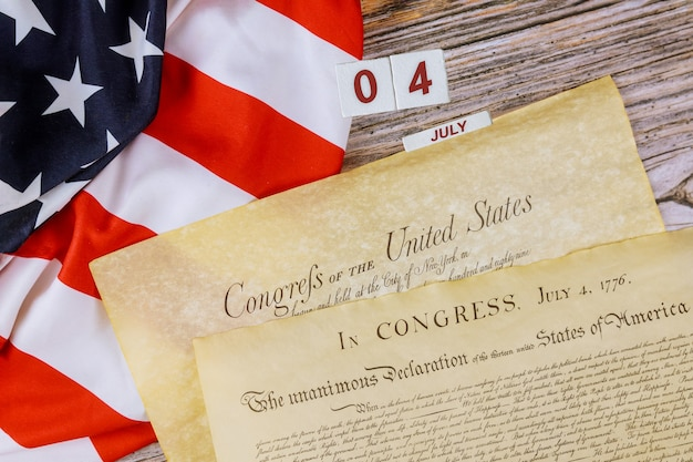 Verfassung der vereinigten staaten von amerika erste von vier seiten des nationalarchivs
