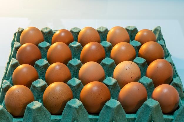 Verkauf von hühnereiern aus freilandhaltung