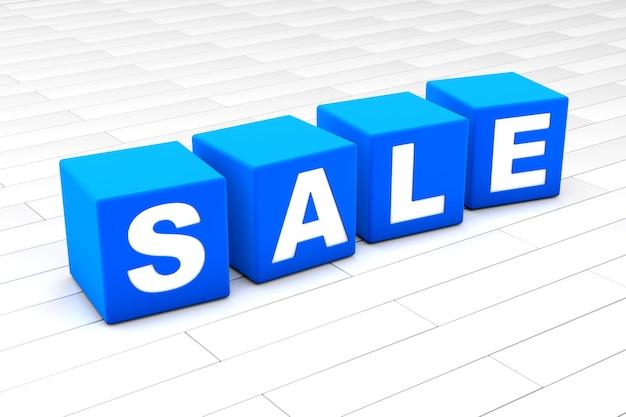 Verkaufswortillustration