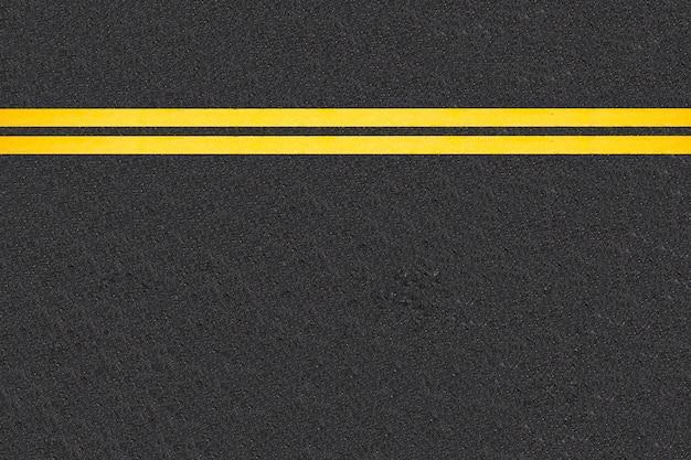 Verkehrslinien auf asphaltierten straßen hintergrund