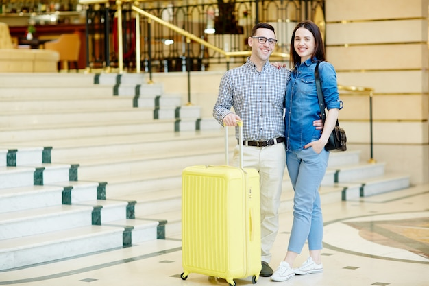 Verliebte reisende