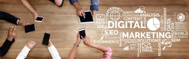 Vermarktung des digitaltechnikgeschäfts