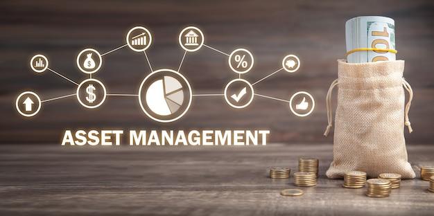 Vermögensverwaltung. technologie. geschäftskonzept