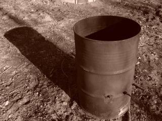 Verrostet barrel