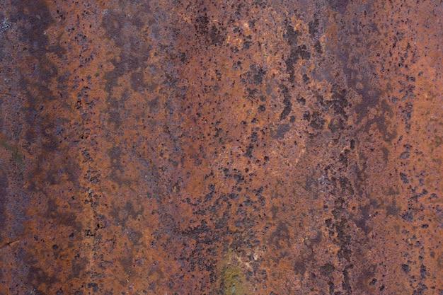 Verrostete galvanisierte eisenplatte