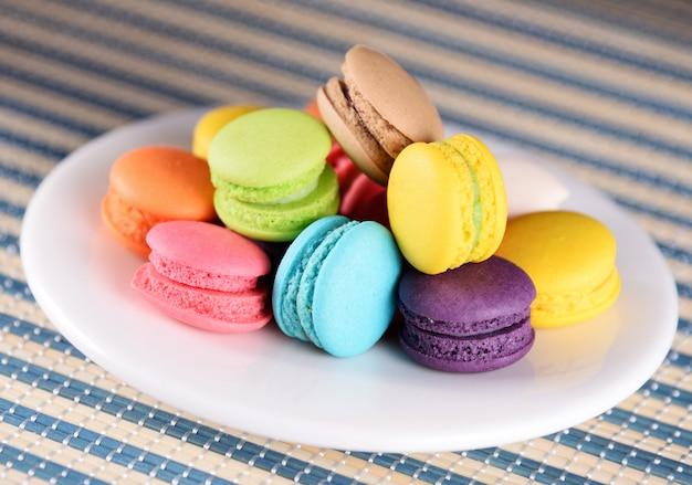 Verschiedene arten von macarons, französischen macarons oder macarons