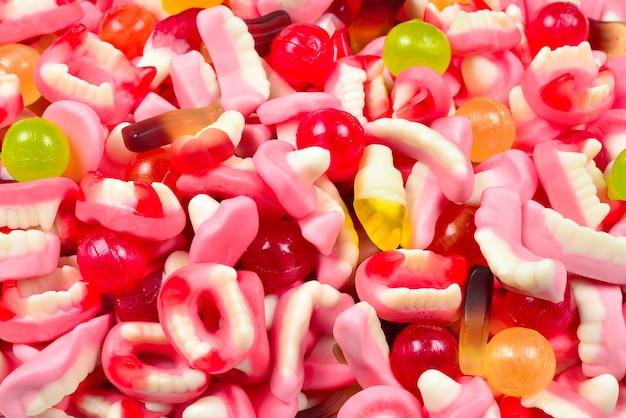 Verschiedene gummibärchen