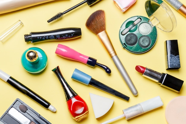 Verschiedene kosmetika