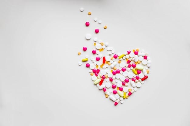 Verschiedene pillen und kapseln