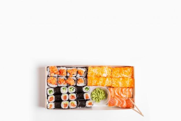 Verschiedene sushi-set