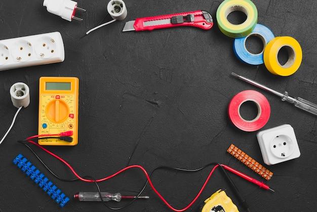 Verschiedene werkzeuge für elektro