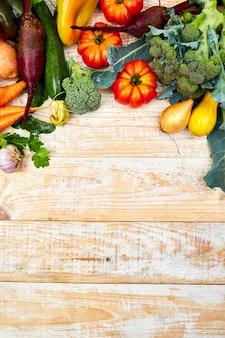 Verschiedenes gemüse für gesundes essen