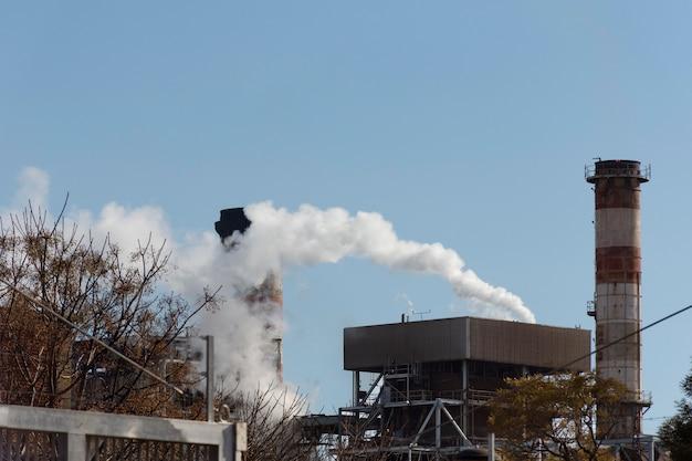 Verschmutzungskonzept von fabrikemissionen