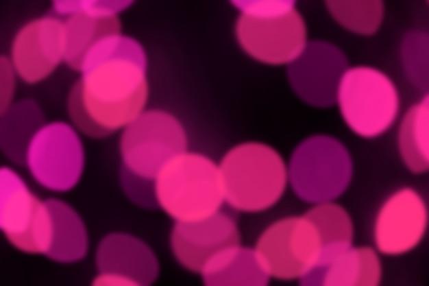 Verschwommen, bokeh, unscharf gestellt, unscharf lebendiges, lebhaftes rosa licht