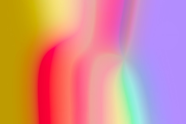 Verschwommener pop abstrakter hintergrund mit lebendigen primärfarben
