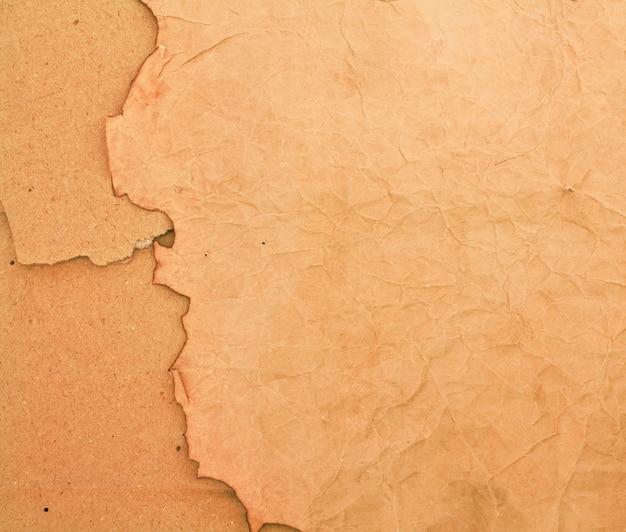 Versengtes papier und pappe backround