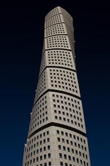 Vertikale aufnahme des wolkenkratzers von ankarparken