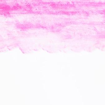 Vertikaler farbverlauf des rosa aquarells