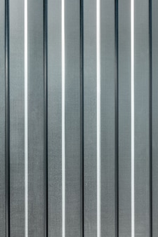 Vertikales blech aus verzinktem profilboden das muster des metallhintergrundes