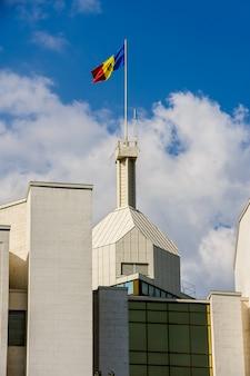 Verwaltungsgebäude des präsidenten, chisinau, moldawien