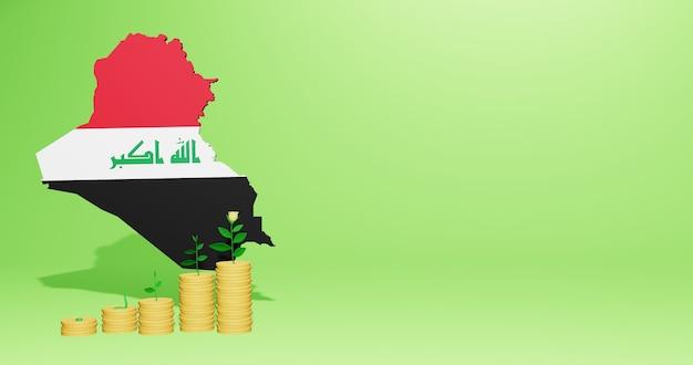 Verwendung von bankzinsen im irak für die bedürfnisse von social-media-tv und website-hintergrundcover