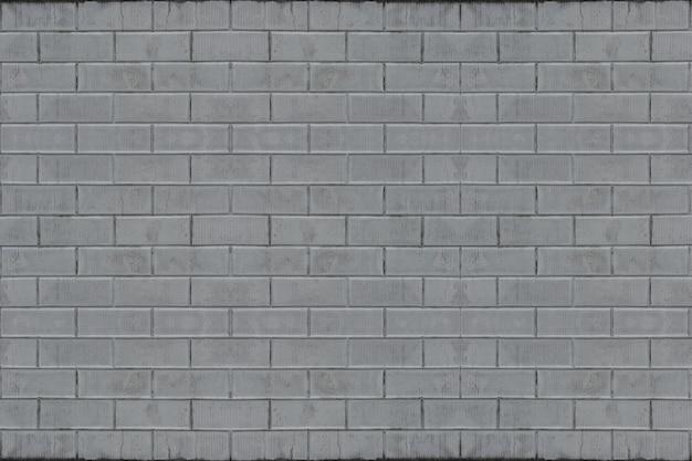 Verwitterter alter grauer zementziegelstein blockiert wandbeschaffenheits-oberflächenhintergrund.