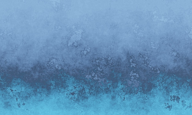 Verwitterter grauer und blauer zementwandhintergrund 3d