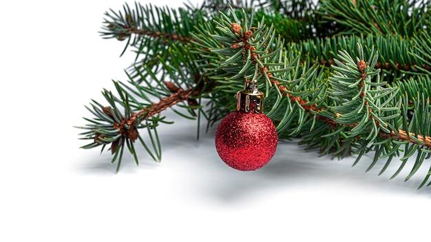 Verzierter weihnachtsbaum