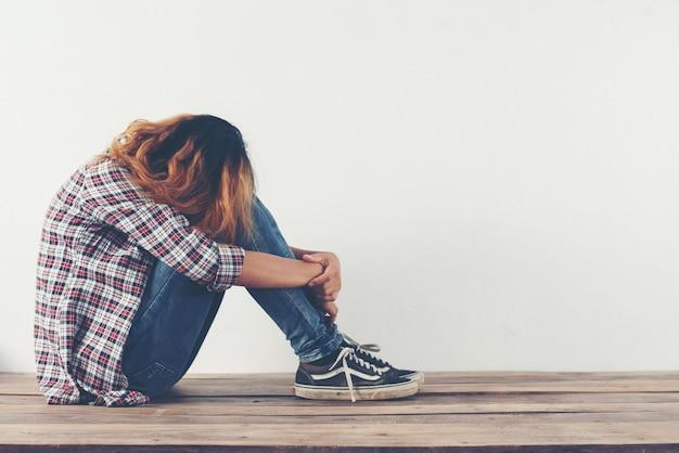 Verzweiflung kummer schlecht allein schön