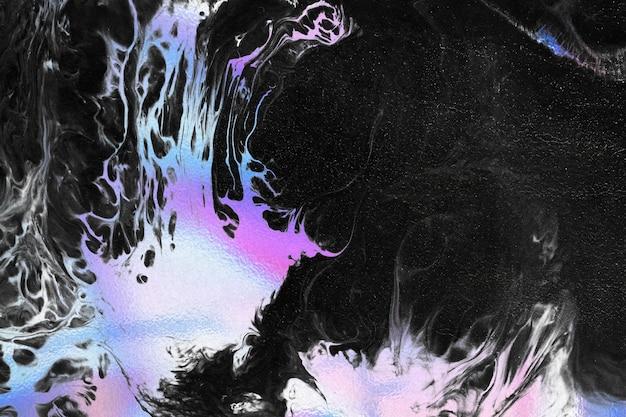 Vibrierender neonfarbener flüssiger hintergrund
