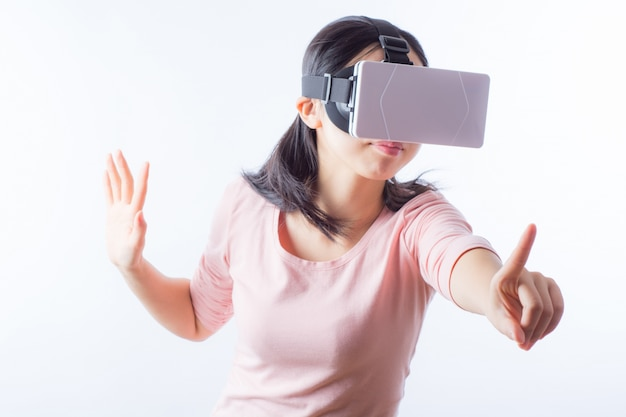 Video internet weiß touch person