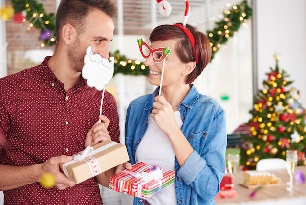 Viel spaß bei der weihnachtsbüro-party
