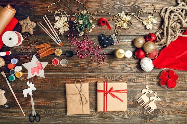 Viele kreative weihnachtsaccessoires