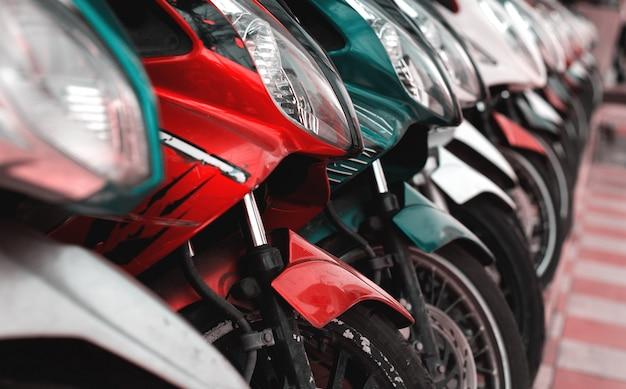 Viele motorräder